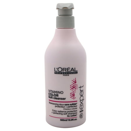 Vitamino Color Soft Cleanser Shampoo by LOreal Professional for Unisex - 16.9 oz Shampoo - image 1 of 1