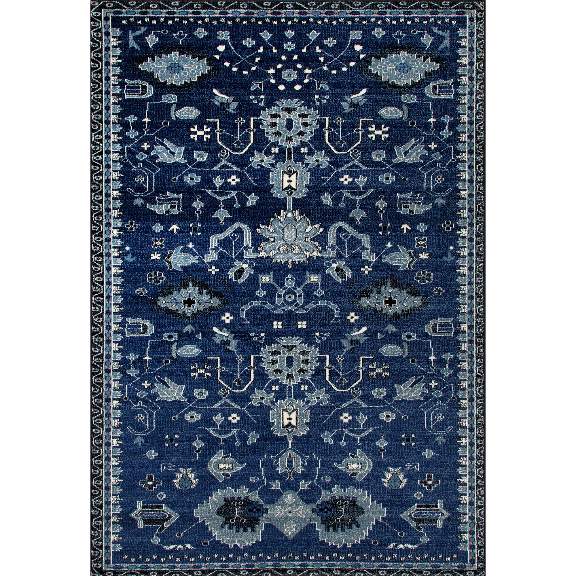 Traditional Classic Woven Area Rug, 039