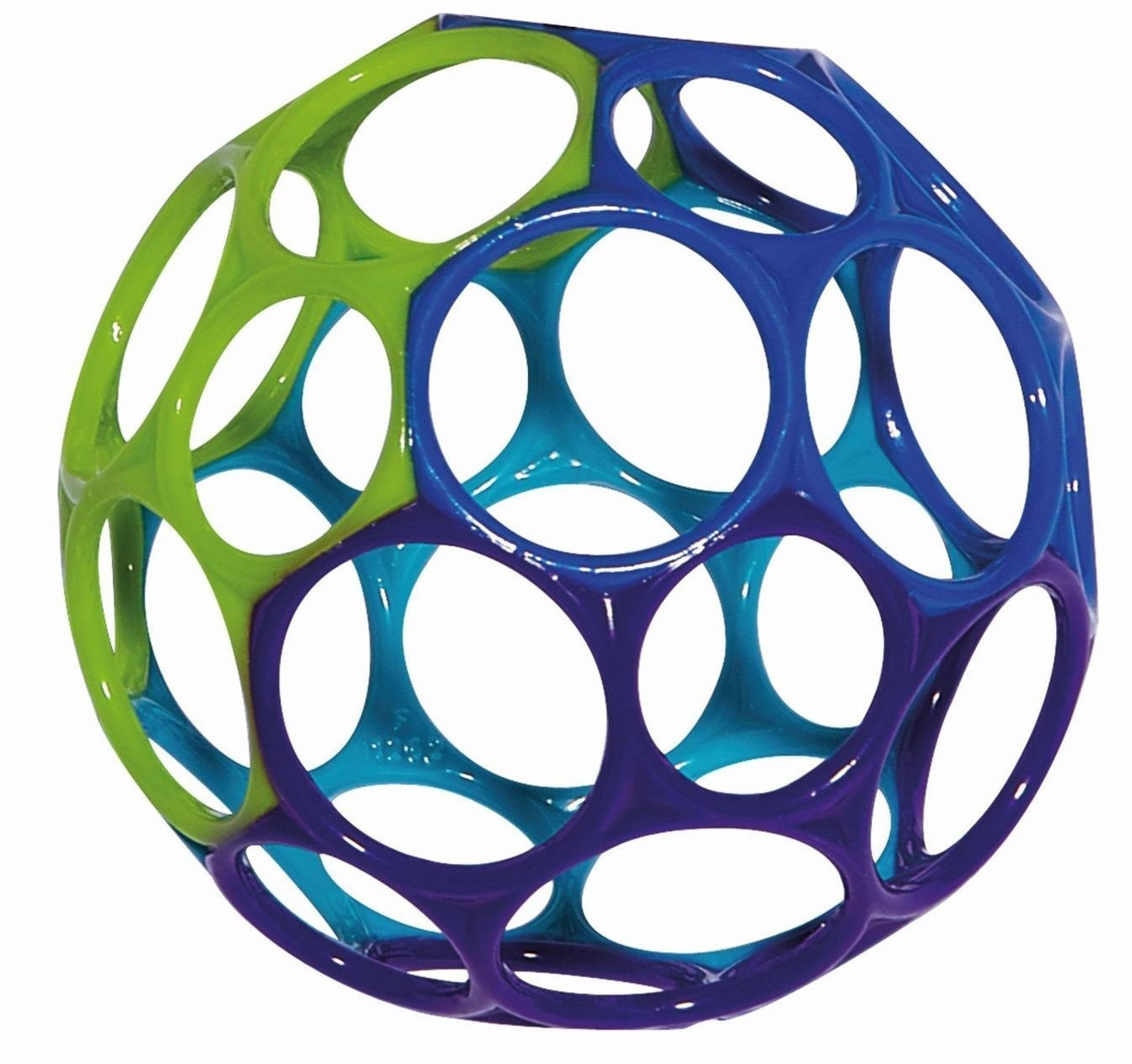 Rhino Toys Oball - Blue/Green/Purple