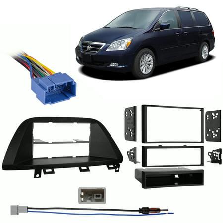 - Fits Honda Odyssey 2005-2007 Multi DIN Stereo Harness Radio Install Dash Kit