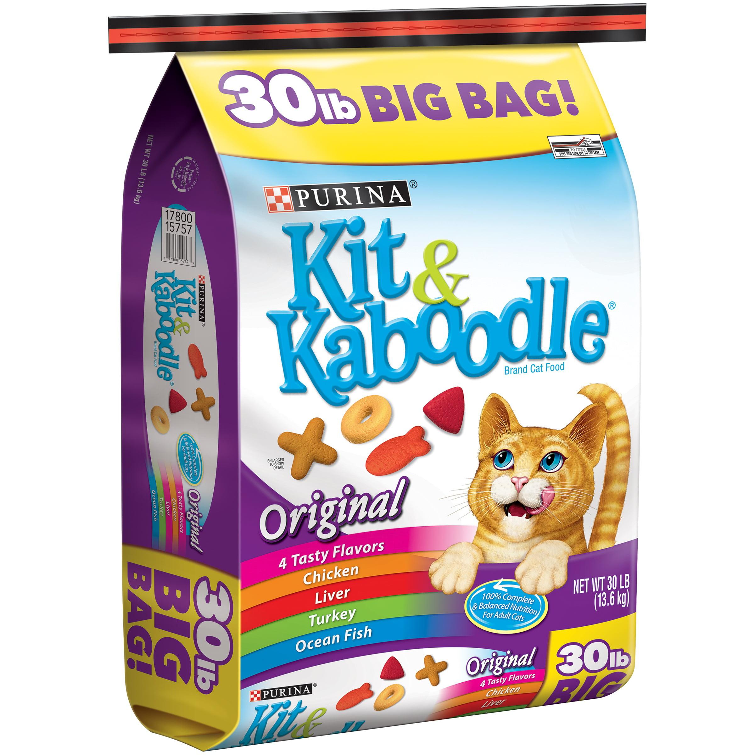 Purina Kit & Kaboodle Original Cat Food 30 lb. Bag