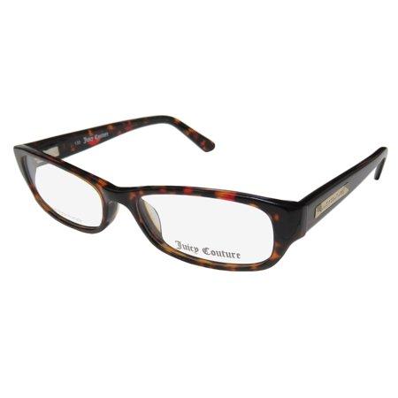 New Juicy Couture 125 Womens Ladies Designer Full-Rim Red Tortoise Frame  Demo Lenses 50-15-130 Flexible Hinges Eyeglasses Glasses - Walmart.com bba5f7ca3f