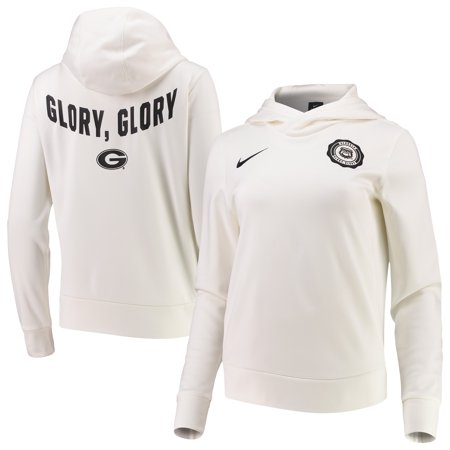 Georgia Bulldogs Nike Women's Rival Thermal Pullover Hoodie - Cream