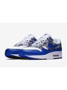 Mens Nike x Atmos Air Max 1 Print We Love Nike White Game Royal Neutra
