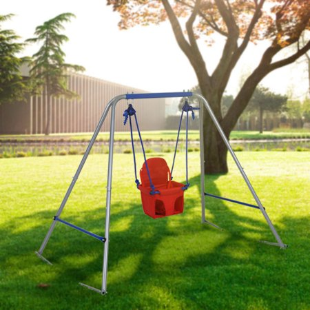 Ft High Toddler Baby Swing Seat With Frame For 1 To 3