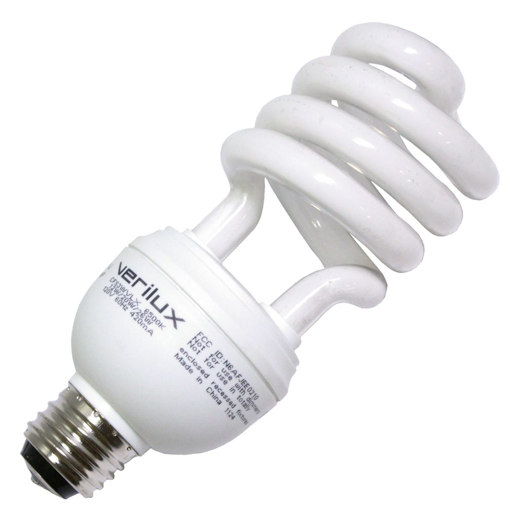 Verilux 05114 CFS3WVLX Compact Fluorescent Daylight Full Spectrum Light Bulb by Verilux Inc