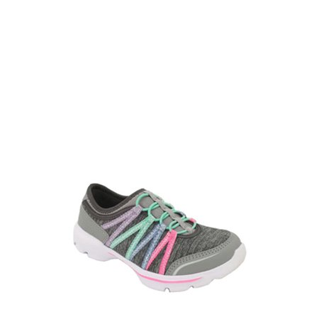 Athletic Works Girls' Bungee Slip on Sneaker