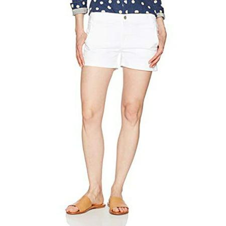 Express Women's Mid Rise Short, White, - Express Discount