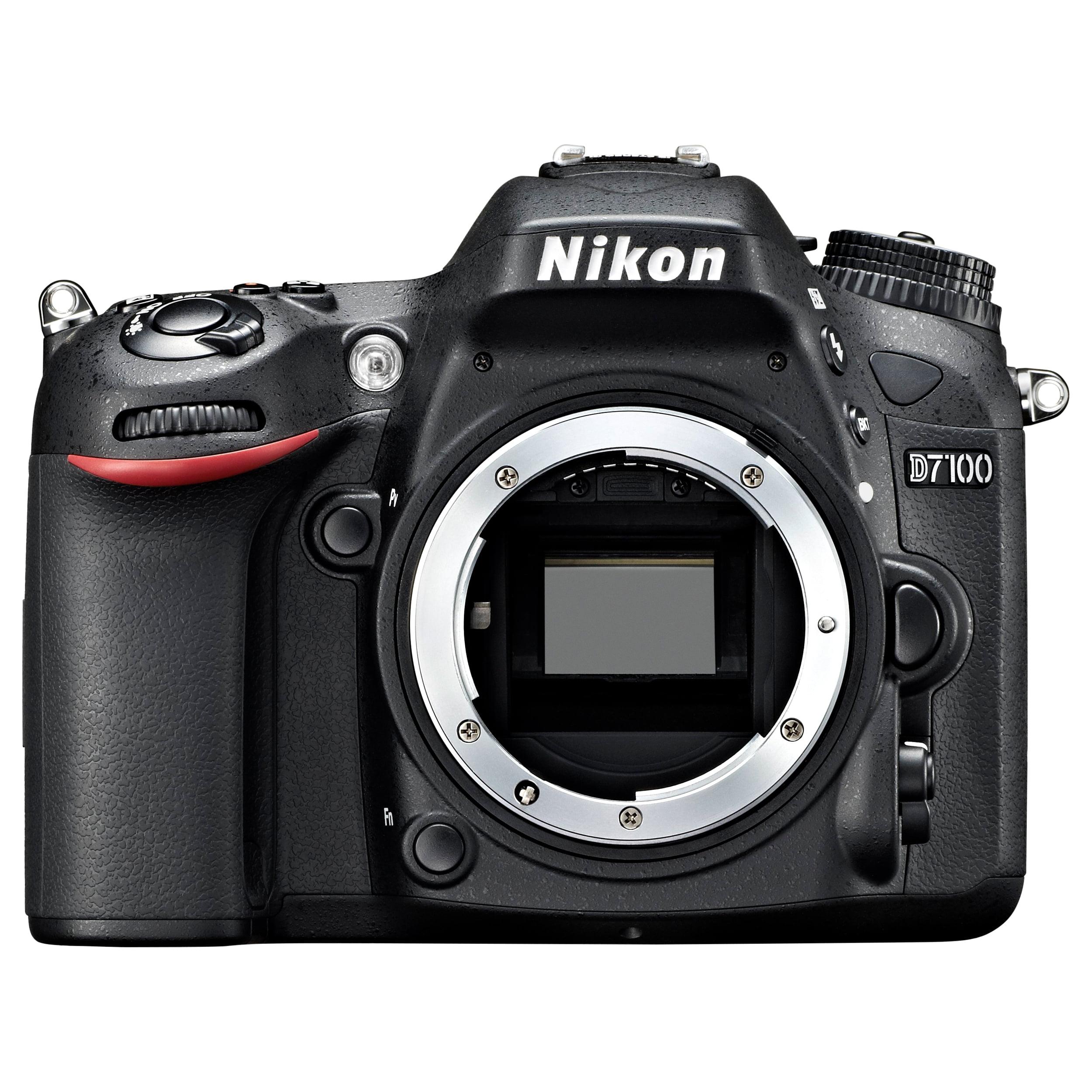 "Nikon D7100 24.1 Megapixel Digital SLR Camera Body Only - Black - 3.2"" LCD - 16:9 - 6000 x 4000 Image - 1920 x 1080 Video - HDMI - PictBridge - HD Movie Mode"