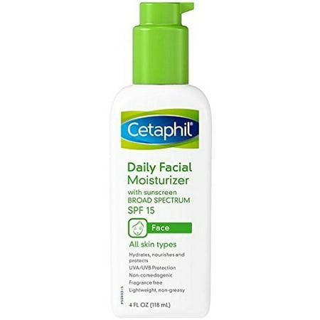 Cetaphil Daily Facial Moisturizer, SPF 15, Fragrance Free - 4 fl