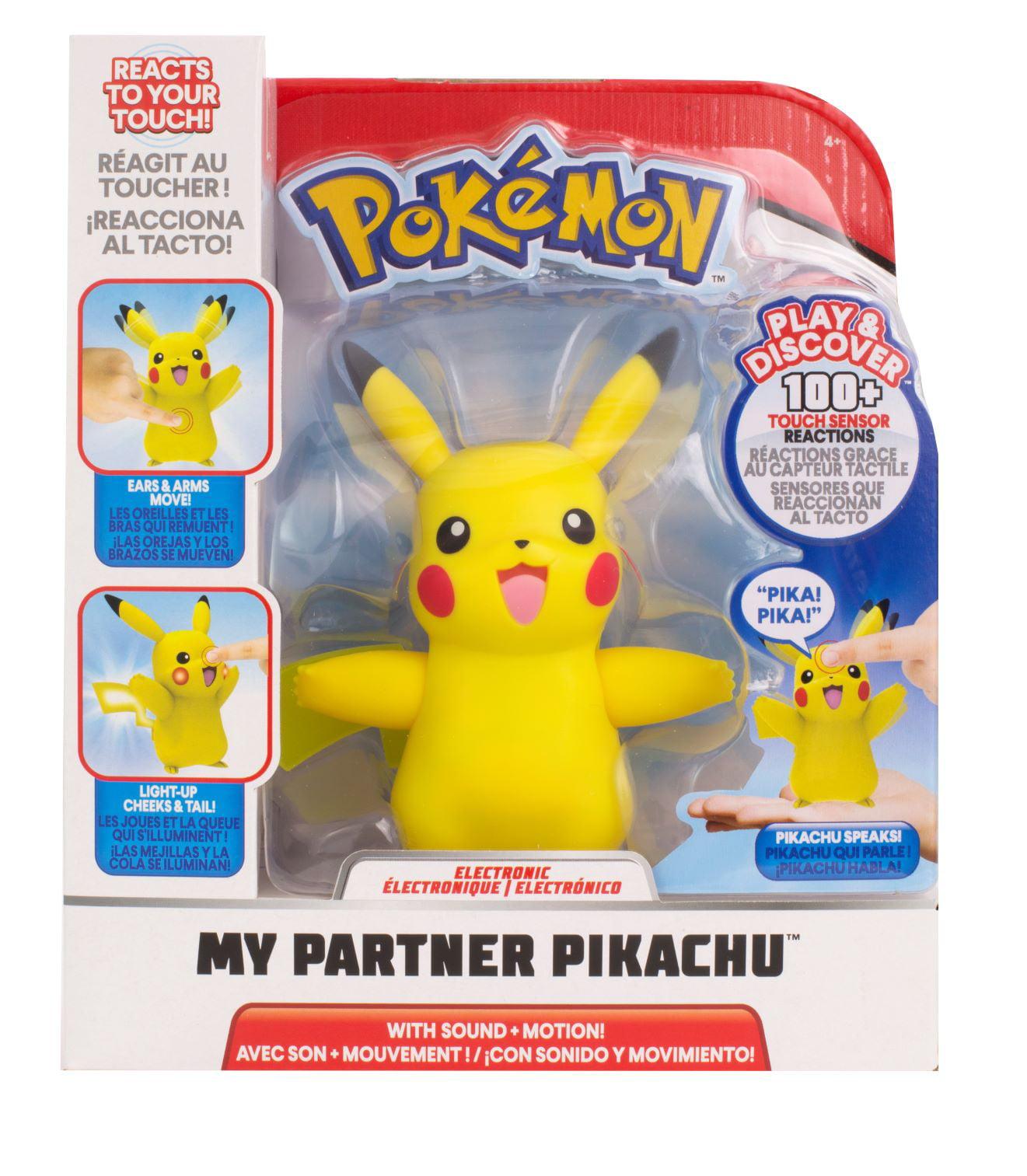 Pokemon My Partner Pikachu Electronic Figure