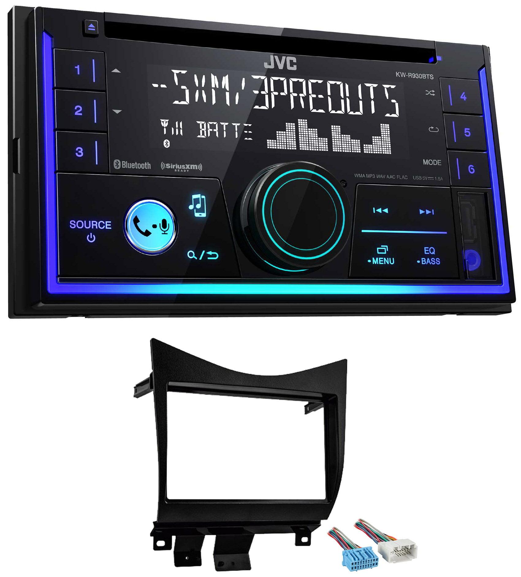 JVC Stereo CD Receiver w/Bluetooth/USB/iPhone/Sirius For 2003-2007 Honda Accord