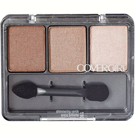Shadow Plus Kit (CoverGirl Eye Enhancers 3 Kit Eye Shadow, Shimmering Sands [110] 1 ea (Pack of 2) )
