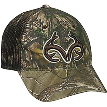 Outdoor Cap Company Realtree Xtra Mesh Back Hat With Antlers Logo ()
