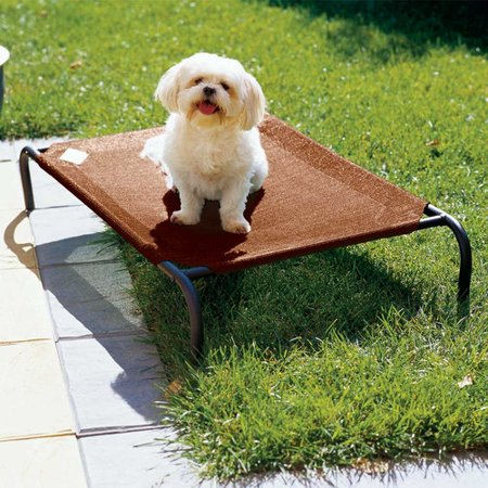 Coolaroo Elevated Indoor Outdoor Pet Cot For Small Breeds
