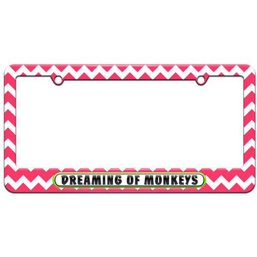 Stylish Design Car Front License Plate/£/¬Pink Camo Country Girl Auto Tag Frame 6 X 12