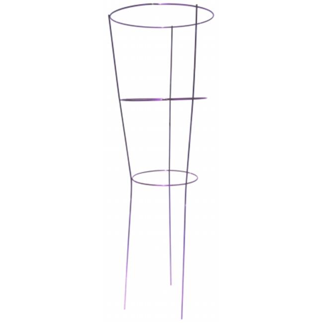 Image of Glamos Wire 204409 14 in. X 42 in. Purple Heavy Duty Plant Support Pack Of 25