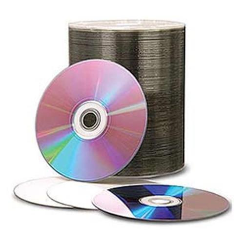 JVC (J-DMR-WPP-SK8) 8X DVD-R 4.7GB White Inkjet Hub Printable Media - 100 Pack