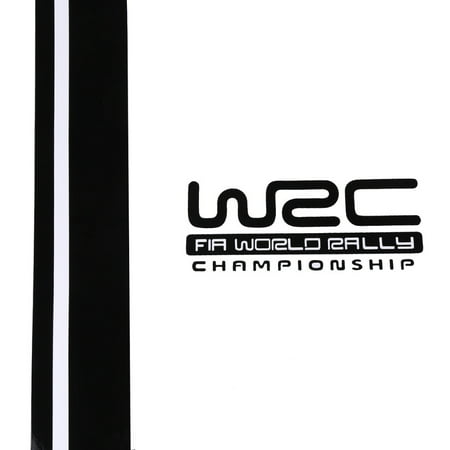 Pair WRC Stripe Car Covers Vinyl Racing Sports Decal Head Car Sticker for Ford Focus VW Cruze Renault