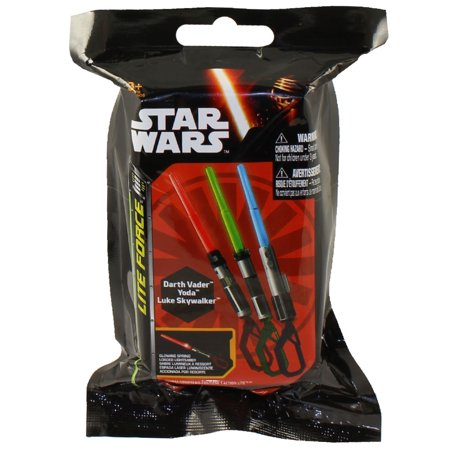0352d38a51 Star Wars - Lite Force Action Clip-On Lightsaber - BLIND PACK - Walmart.com