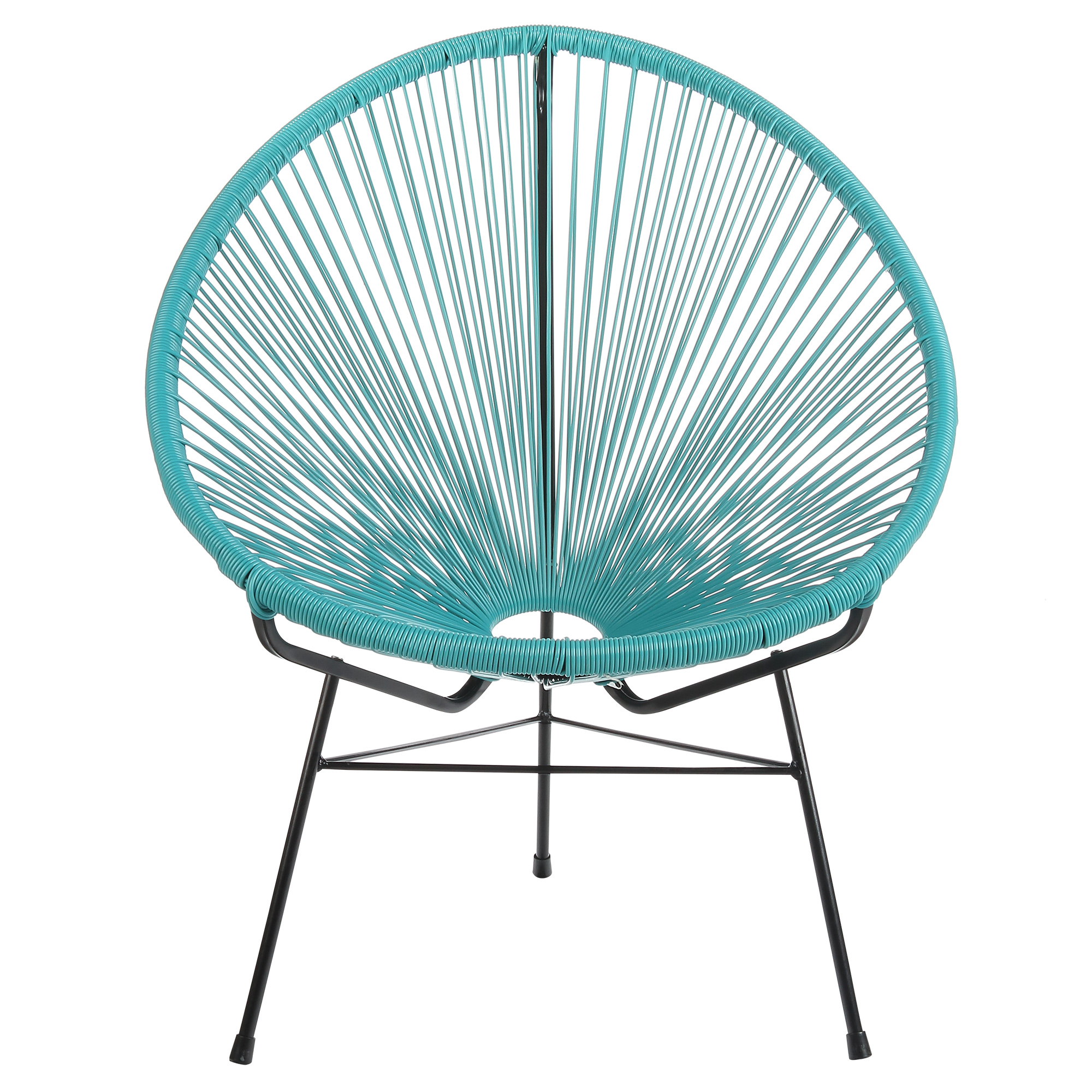 Acapulco Outdoor Lounge Chair - Blue Cord