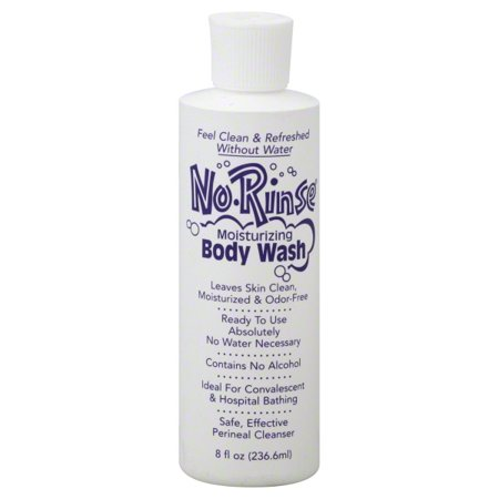 N R Labs No Rinse  Body Wash, 8 oz (Bath And Body Lab)
