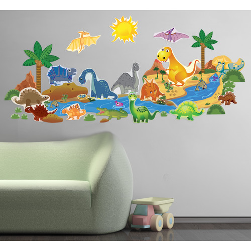 Mona Melisa Designs Dinosaur Plus Wall Decal