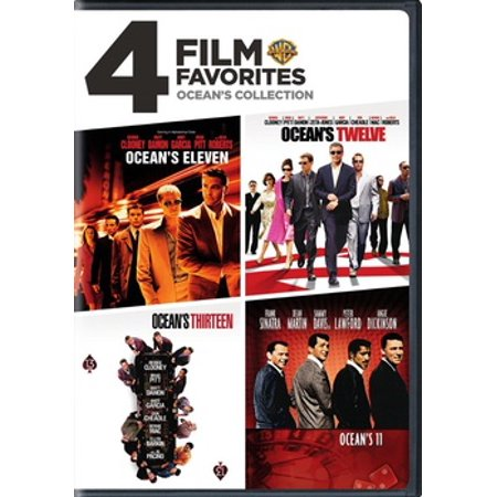 4 Film Favorites: Ocean's Collection (DVD) - Halloween 4 Film Complet
