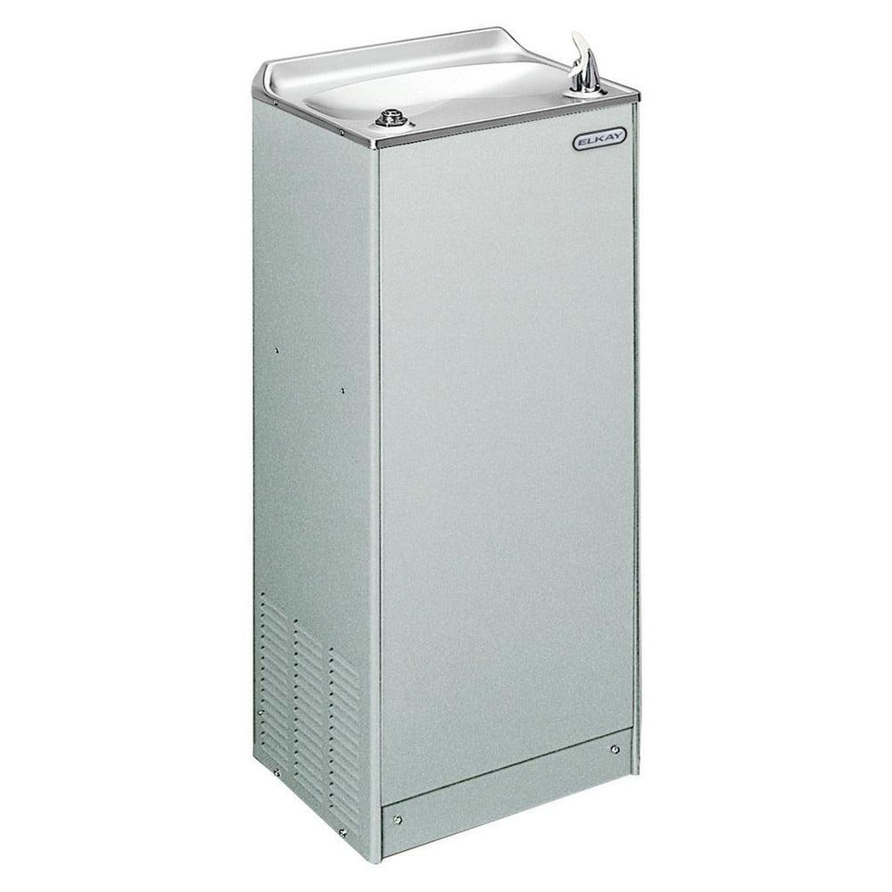 Elkay EFA8L1Z 8 GPH Non-Filtered Floor Mount Cooler (Light Gray Granite)
