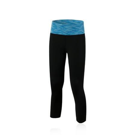e4fa6180c9 SENFLOCO - Senfloco Women's Succinct Compression Terylene Spandex 3/4 Pants  for Sport Training - Walmart.com
