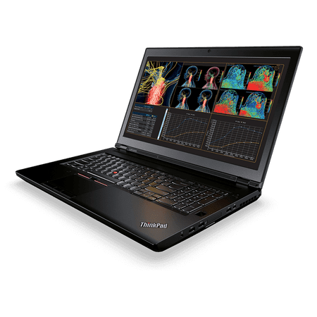 "Lenovo ThinkPad P71 Mobile Workstation Laptop - Windows 7 Pro - Intel Xeon E3-1535M, 16GB ECC RAM, 2TB SSD, 17.3"" UHD 4K 3840x2160 Display, NVIDIA Quadro P4000 8GB GPU, Color Sensor, SmartCard"