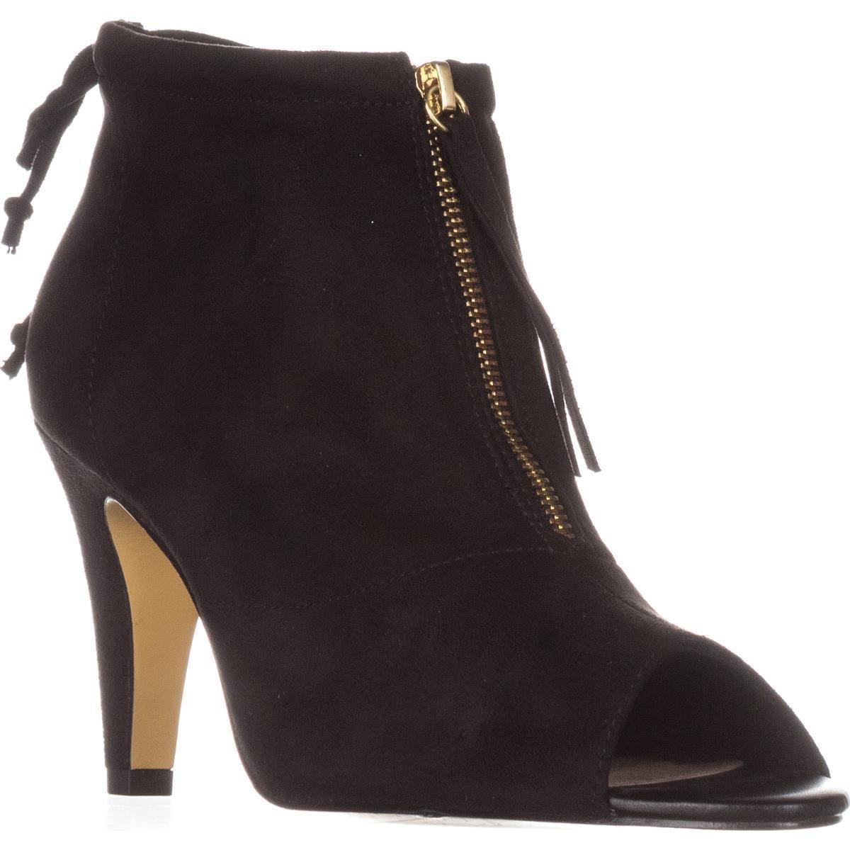 Womens Bella Vita Nicky II Peep-Toe Ankle Boots, Black by Bella Vita