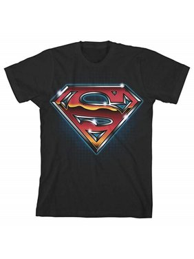Superman Big Boys' Superman Shield Tee