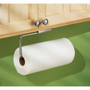 InterDesign Forma Swivel Paper Towel Holder for Kitchen, Wall Mount/Under Cabinet, Brushed Stainless Steel