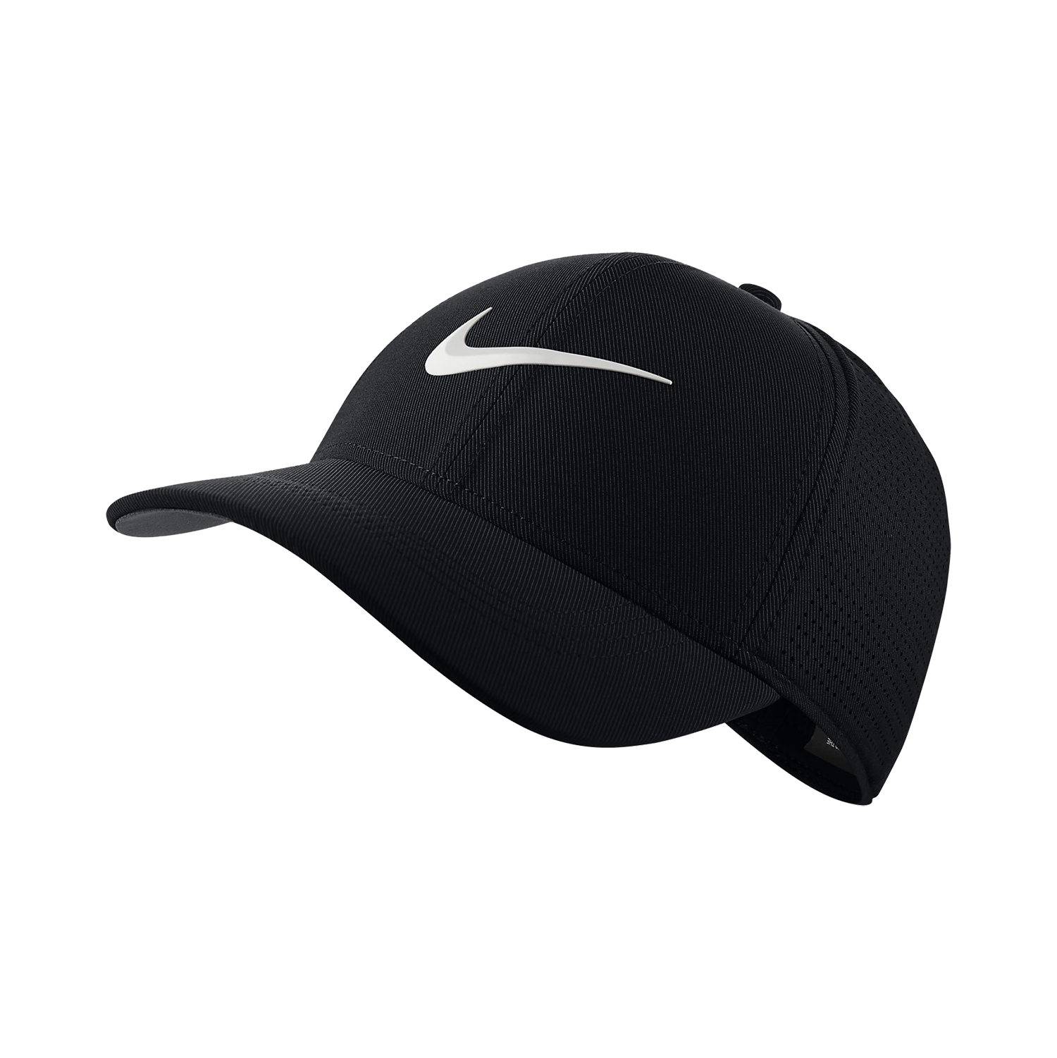 8d66ff58f211 ... italy new 2018 nike aerobill l91 perforated statement black fitted l xl hat  cap 362d0 a22aa