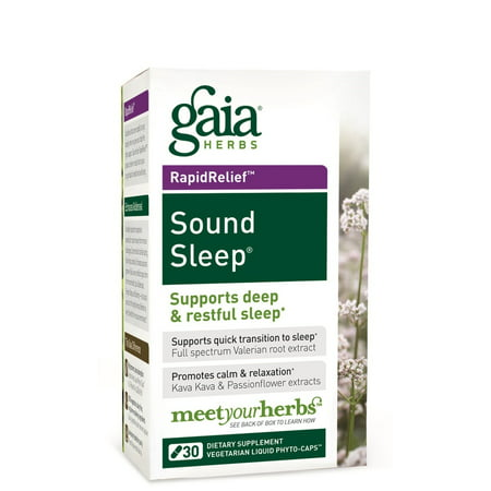 Gaia Sound Sleep (Gaia Herbs Sound Sleep 30 Liquid)