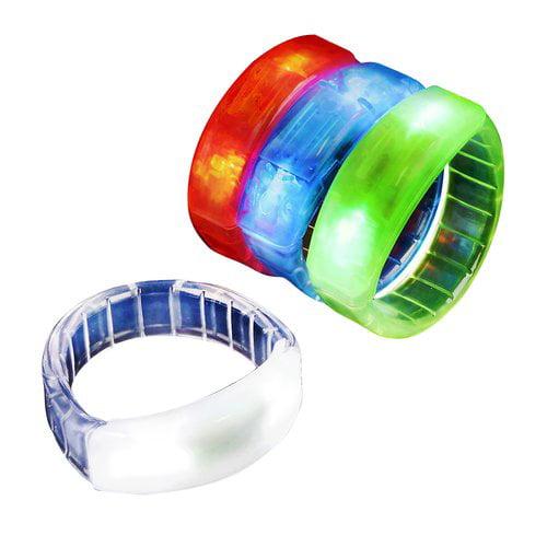 Flashing LED Bracelets, 12pk