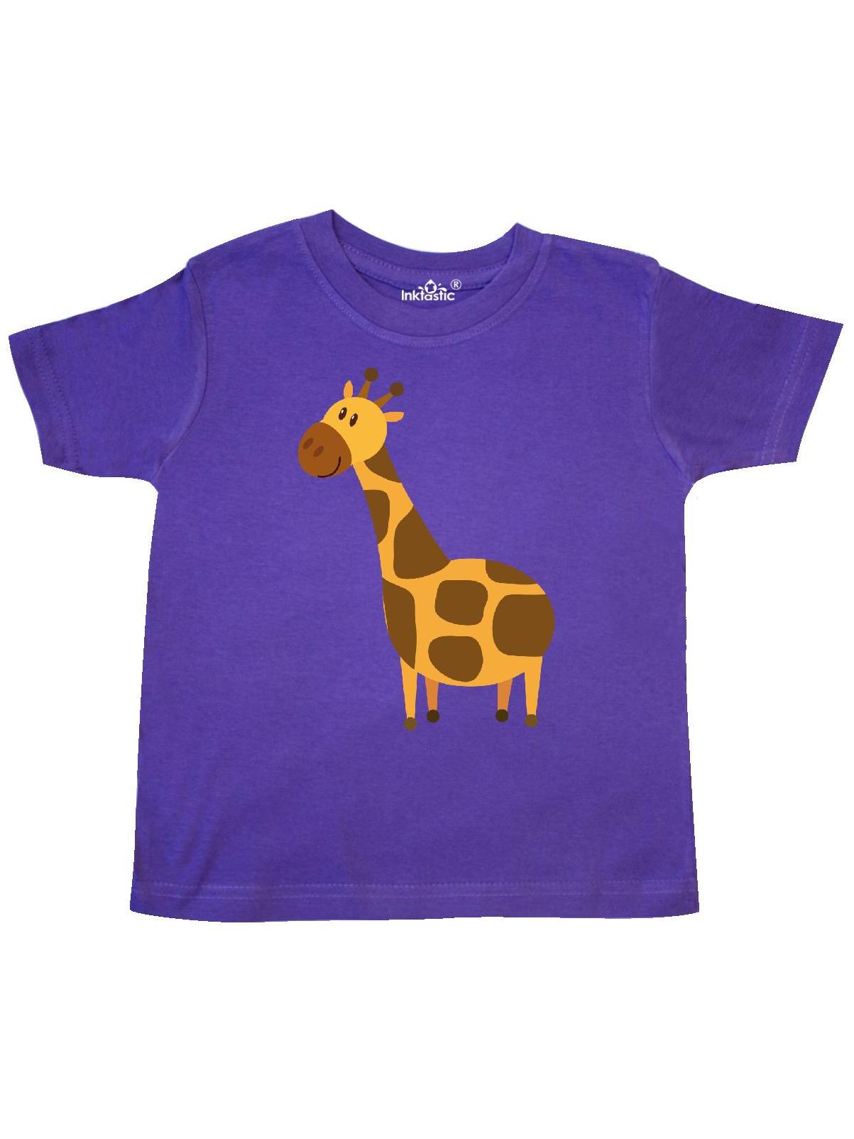 Giraffe Jungle Zoo Animal Toddler T-Shirt