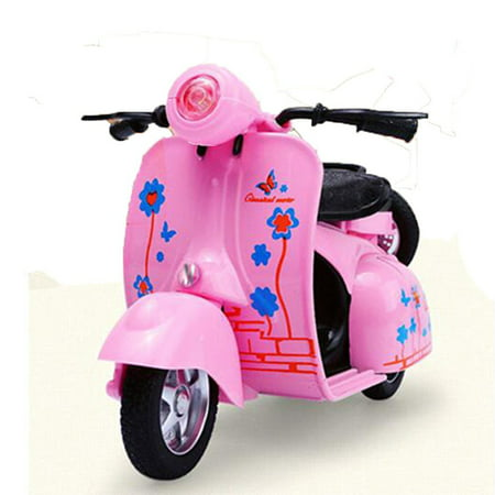 Kidcia Mini Motorcycle with Sound & Light Pull Back Motorbike Kits