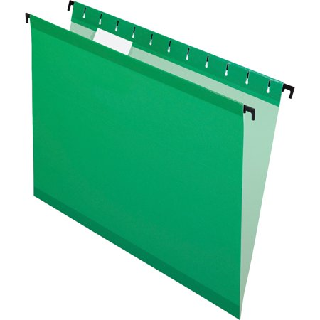 Pendaflex, PFX615215BGR, SureHook Reinforced Hanging Folders, 20 / Box, Bright Green