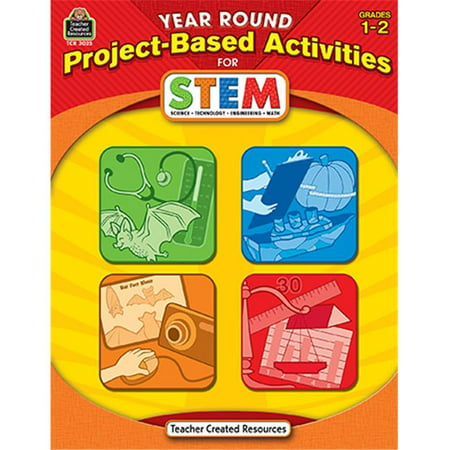 Year Round Gr 1-2 Project Based Activities For Stem - image 1 of 1