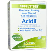 Boiron Acidil Heartburn 60 Tablet, Pack of 2