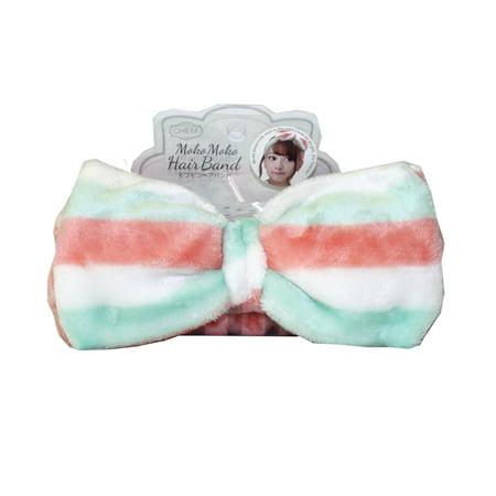 Oheya Mokomoko Spa Headband, Pastel Mille-Feuille