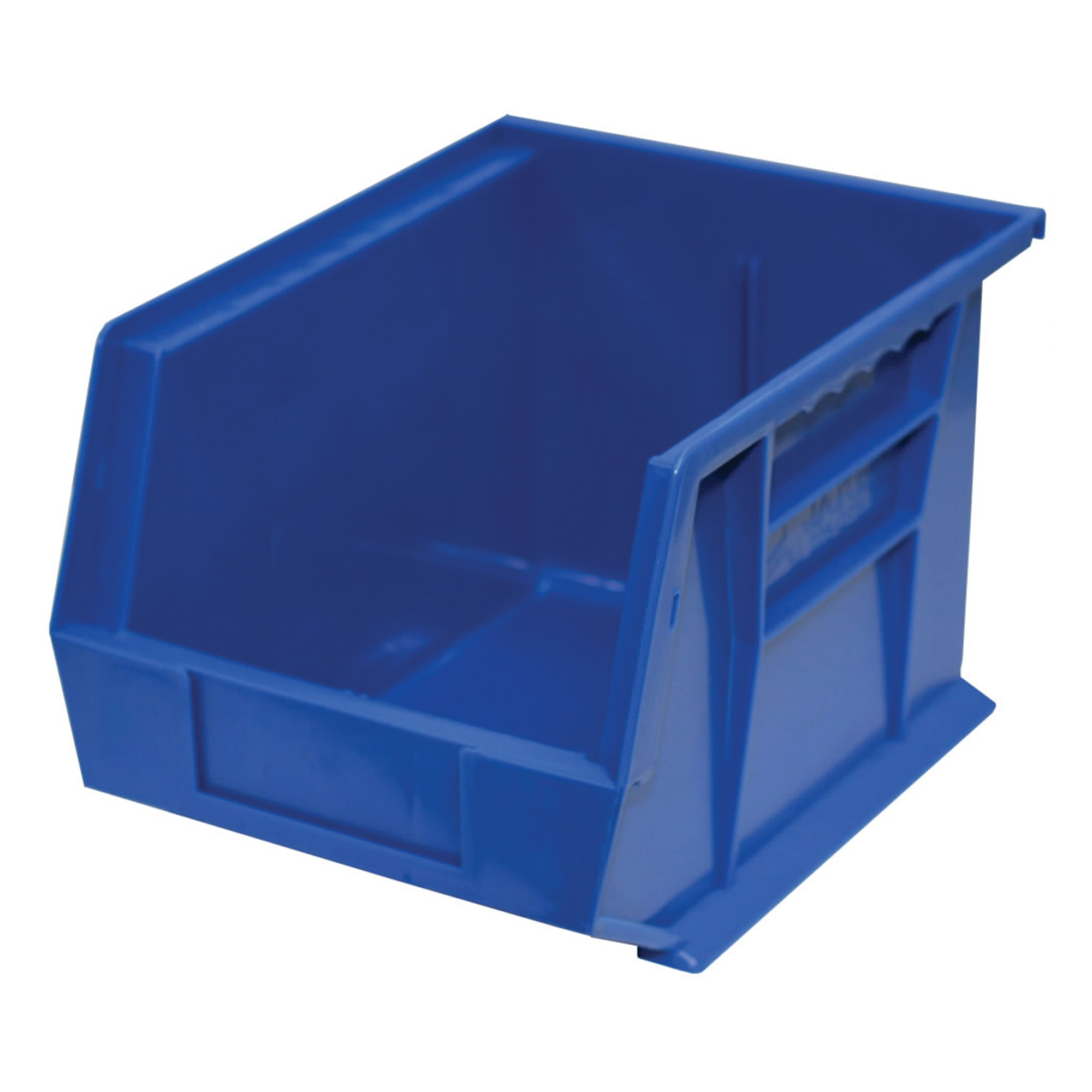 "Storage Max Case of Stackable Blue Bins, 11"" x 8"" x 7"" (6 bins)"