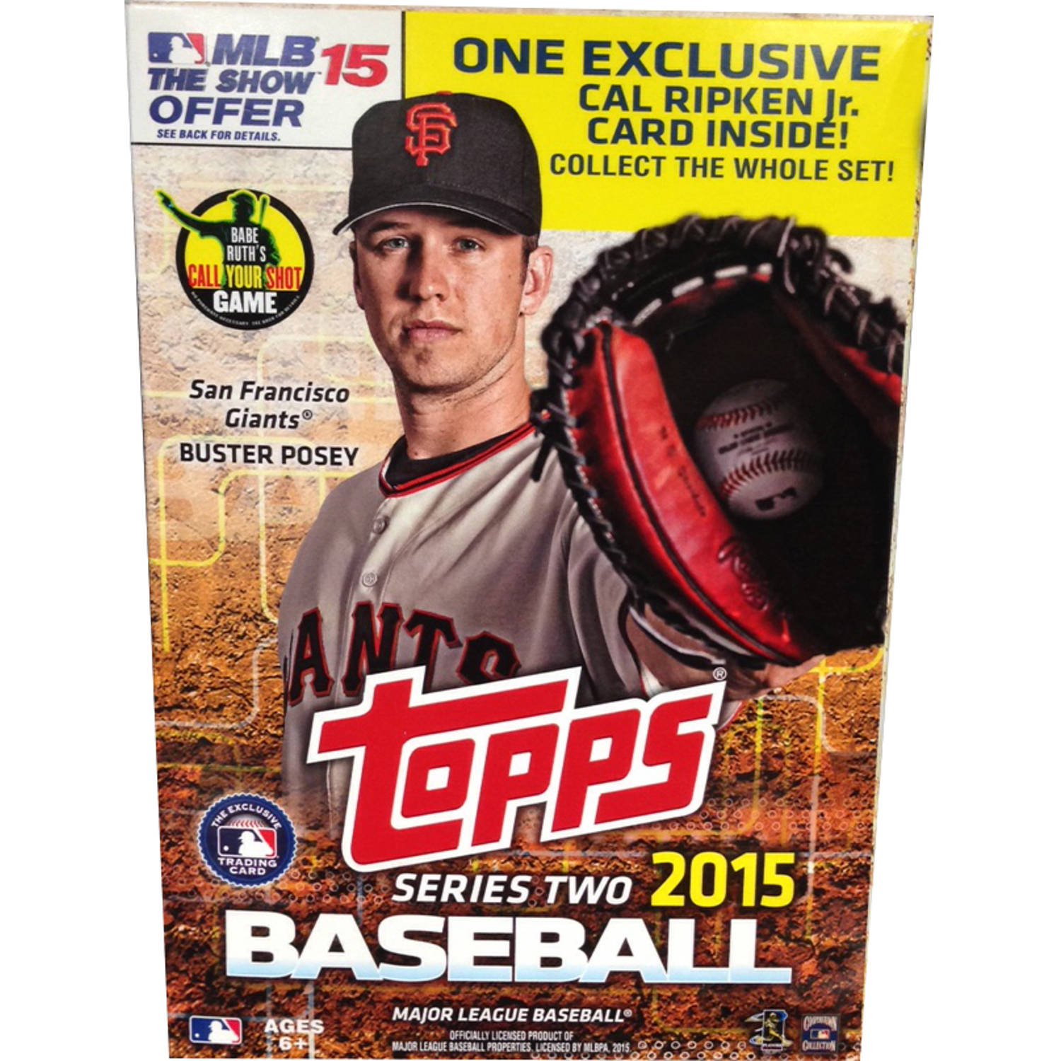 2015 Topps MLB Series 2 Walmart-Exclusive Hanger Pack