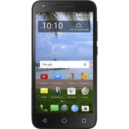 Walmart Family Mobile Alcatel Raven Prepaid Smartphone (Fire Phone T Mobile)