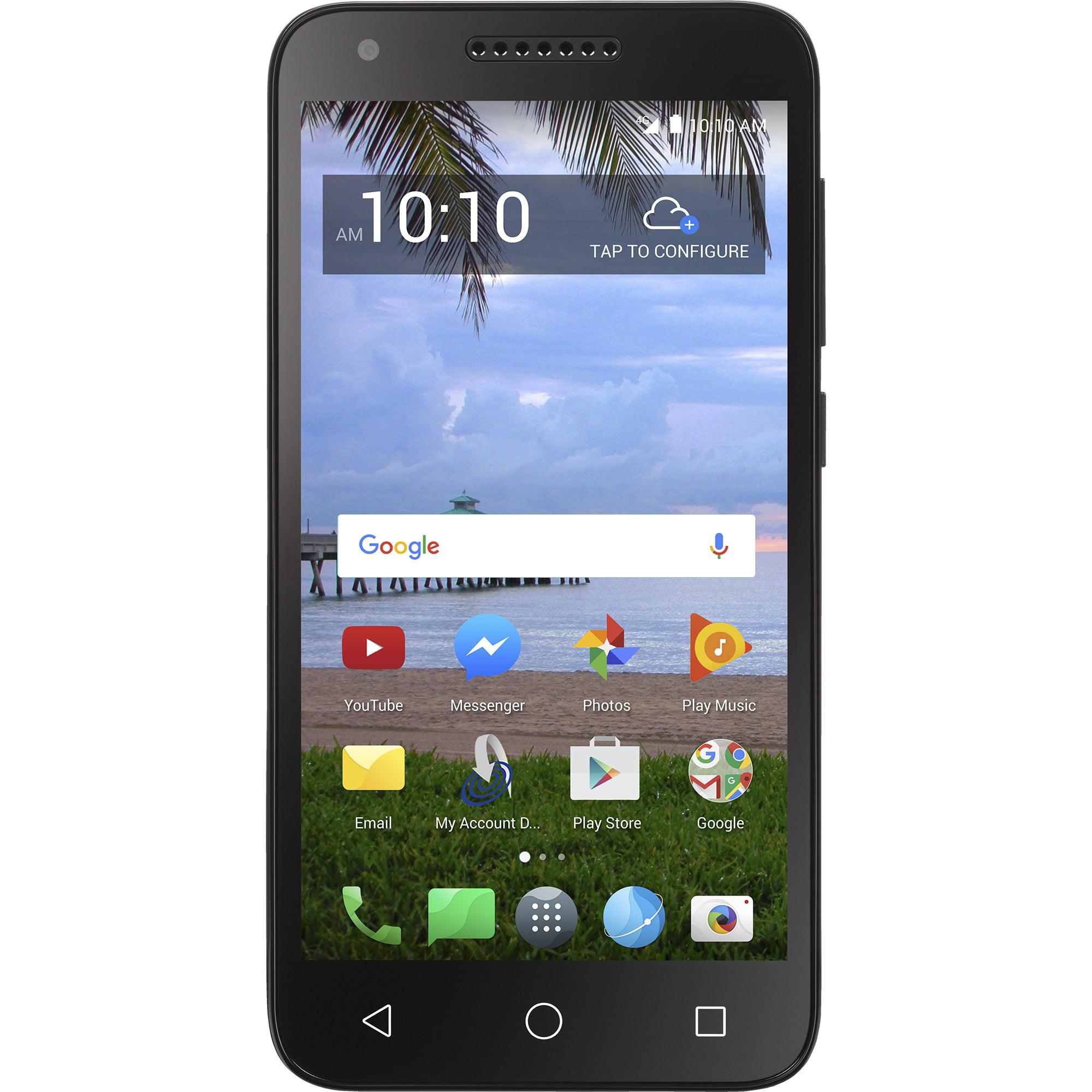 Walmart Family Mobile Alcatel Raven Prepaid Smartphone