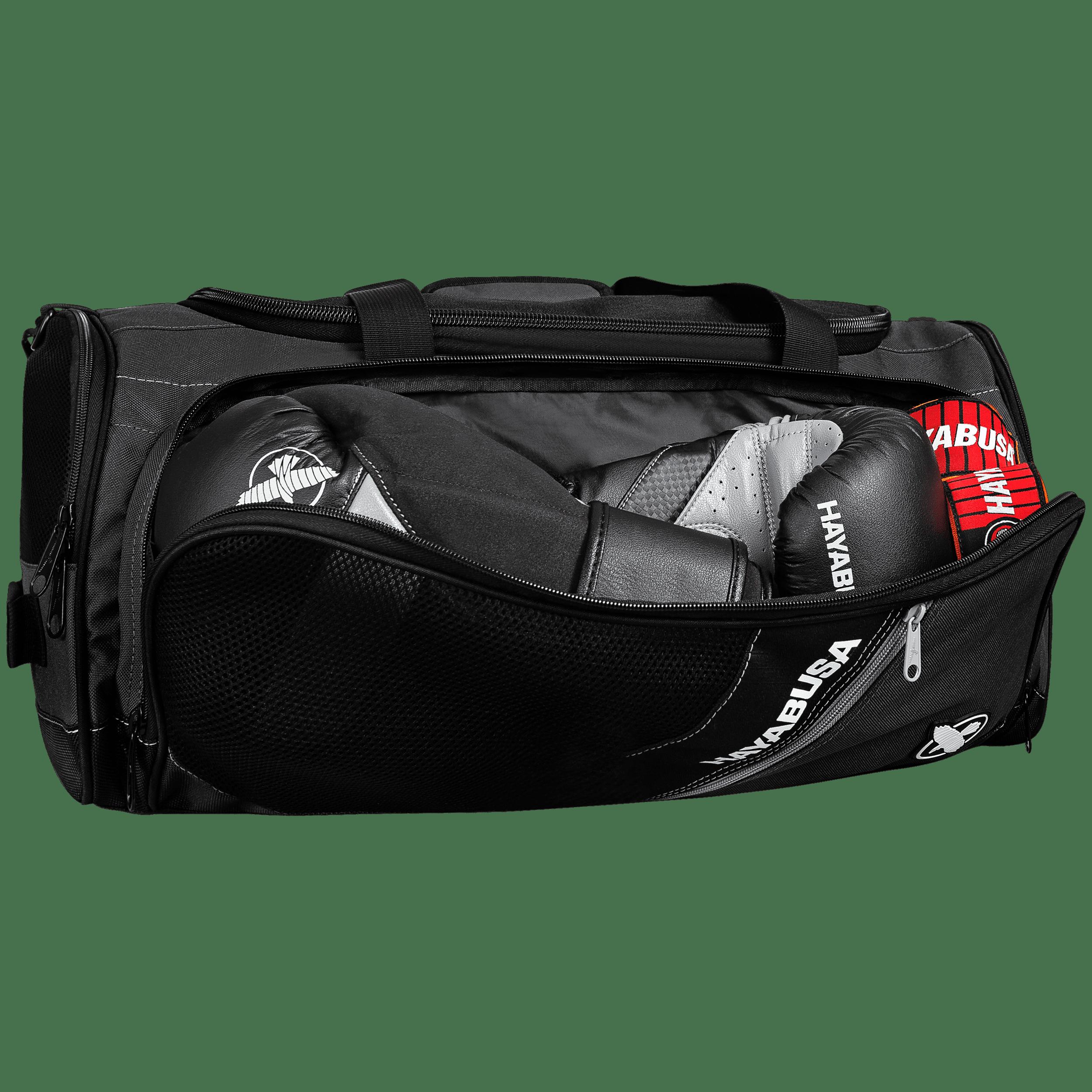 Black//Gray Hayabusa Ryoko Lightweight Compact Backpack