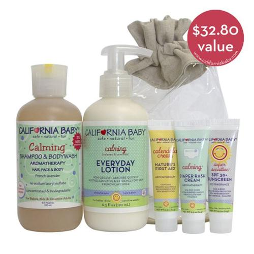 California Baby Calming Gift Set, 5 pc