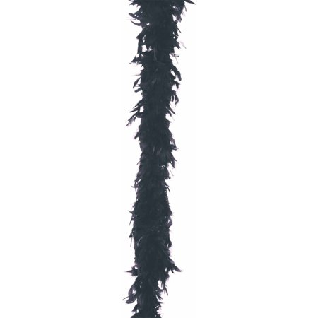 BOA FEATHER 40 GRAM BLACK - Black Feather Boa